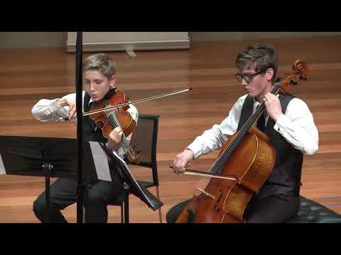 CMNZ 2018 Senior Original Composition Winner - Virtuoso Strings Quartet Wellington