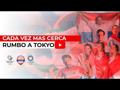 Cada vez mas cerca de los JJ.OO - Team Paraguay rumbo a Tokyo 2020