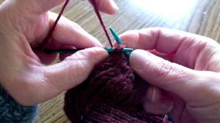 Sock--turning the heel, gussett