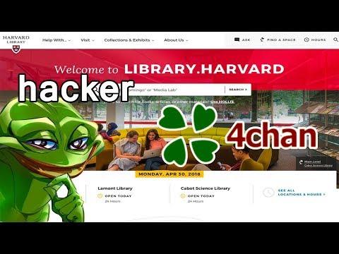 Hacker 4chan Takes a Harvard Survey