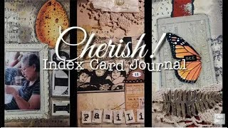 Watch As Cat Kerr Creates An Index Card Journal by Joggles.com
