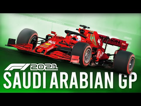 First Laps At The Jeddah Street Circuit (F1 2021 Saudi Arabian GP)