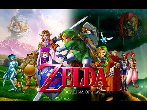 The Legend Of Zelda: Ocarina Of Time | Templo del agua