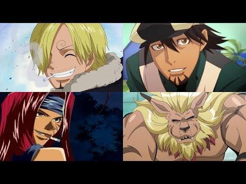 Hiroaki Hirata - Personagens