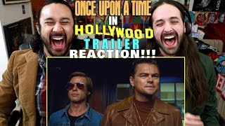 ONCE UPON A TIME IN HOLLYWOOD - Teaser TRAILER REACTION!!!