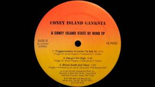 "Coney Island Ganksta - ""Hangin Em High"" - 1992 - NYC Hip-Hop"