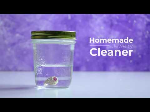 Homemade Jewelry Cleaner | DIY Natural