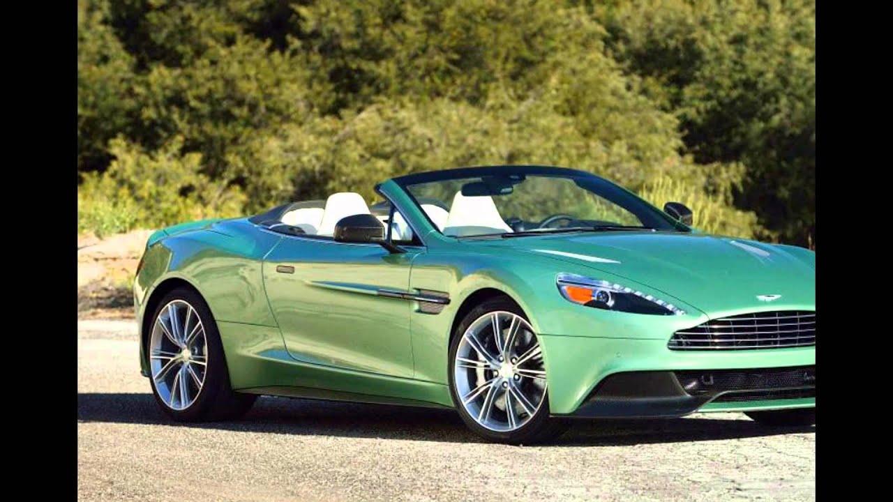 2016 Aston Martin Vanquish Appletree Green Youtube