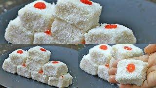 ভিডিওটি না দেখলে আপনার বিশ্বাস হবেনা আটা দিয়ে এতো মজার বরফি তৈরি করাযায় | Make Swwet With The Flour