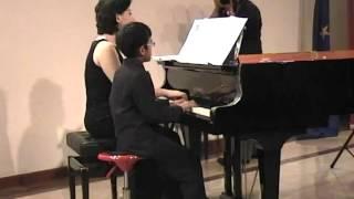 Aga plays Rumba by Gerard Hengeveld for 1 piano, 4 hands