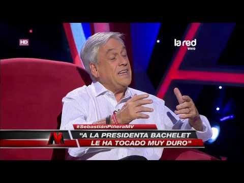 """Sebastián Piñera y el """"Caso Caval"""": """"A la Presidenta le ha tocado duro"""""""