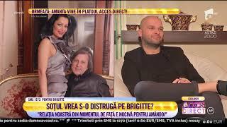 """Brigitte Năstase recunoaște că l-a înșelat pe Ilie Năstase: """"I-am acceptat avansurile..."""""""