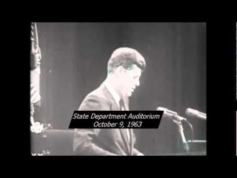 October 9, 1963 - President John F. Kennedy's remarks on Senator Barry Goldwater