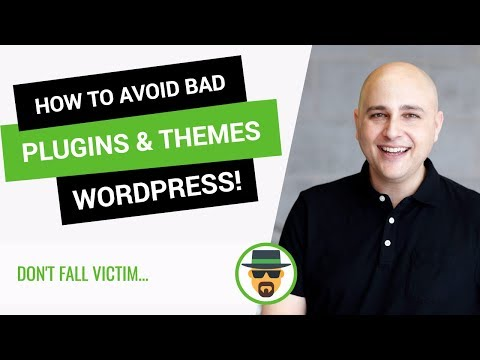 How To Choose The Right Plugins & Themes To Use When You Make A WordPress Website
