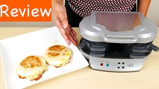 Hamilton Beach Dual Sandwich Maker Review