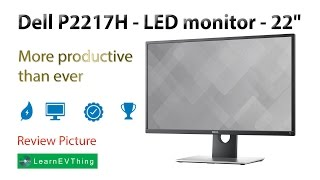 Dell 22 Monitor | P2217H - More productive than ever