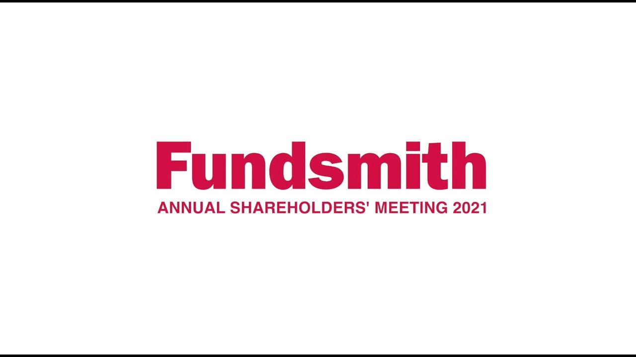 FUNDSMITH Annual Shareholders' Meeting Presentation February 2021