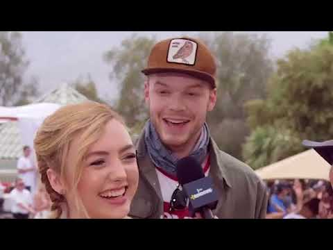 The Rundown Peyton List & Cameron Monaghan Let Loose at Coachella E! News
