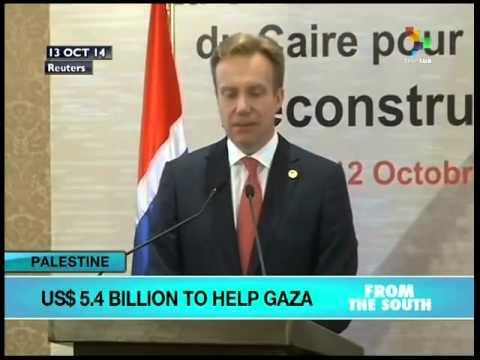 US$5.4 Billion pledged to help rebuild Gaza Strip