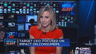 Target CEO: Focused on tariff impact on consumers
