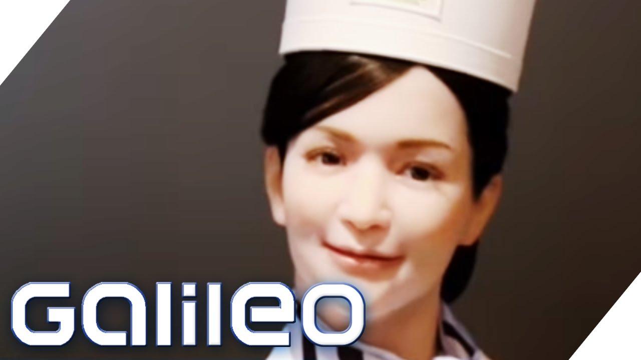 Das japanische Roboterhotel | Galileo | ProSieben