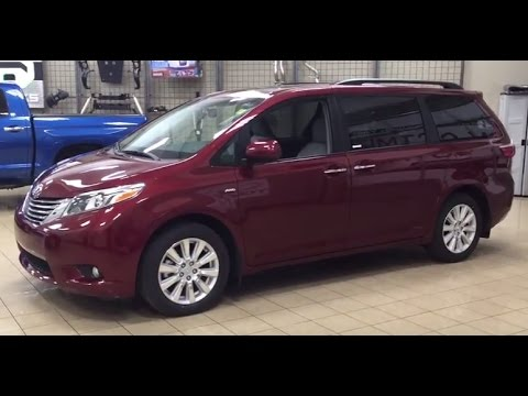2017 toyota sienna xle awd review youtube. Black Bedroom Furniture Sets. Home Design Ideas