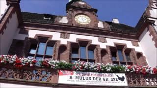 ストラスブールからドイツ・フライブルグ