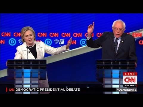 Watch Hillary Clinton and Bernie Sanders Most-Heated Moments at Debate