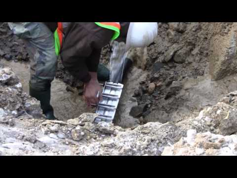 How to fix a busted water main