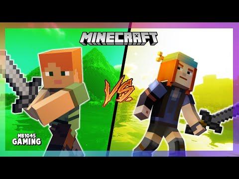 Minecraft - Alex Vs Petra   [Original Minecraft Xbox Skit]   (200 Subscriber Special)