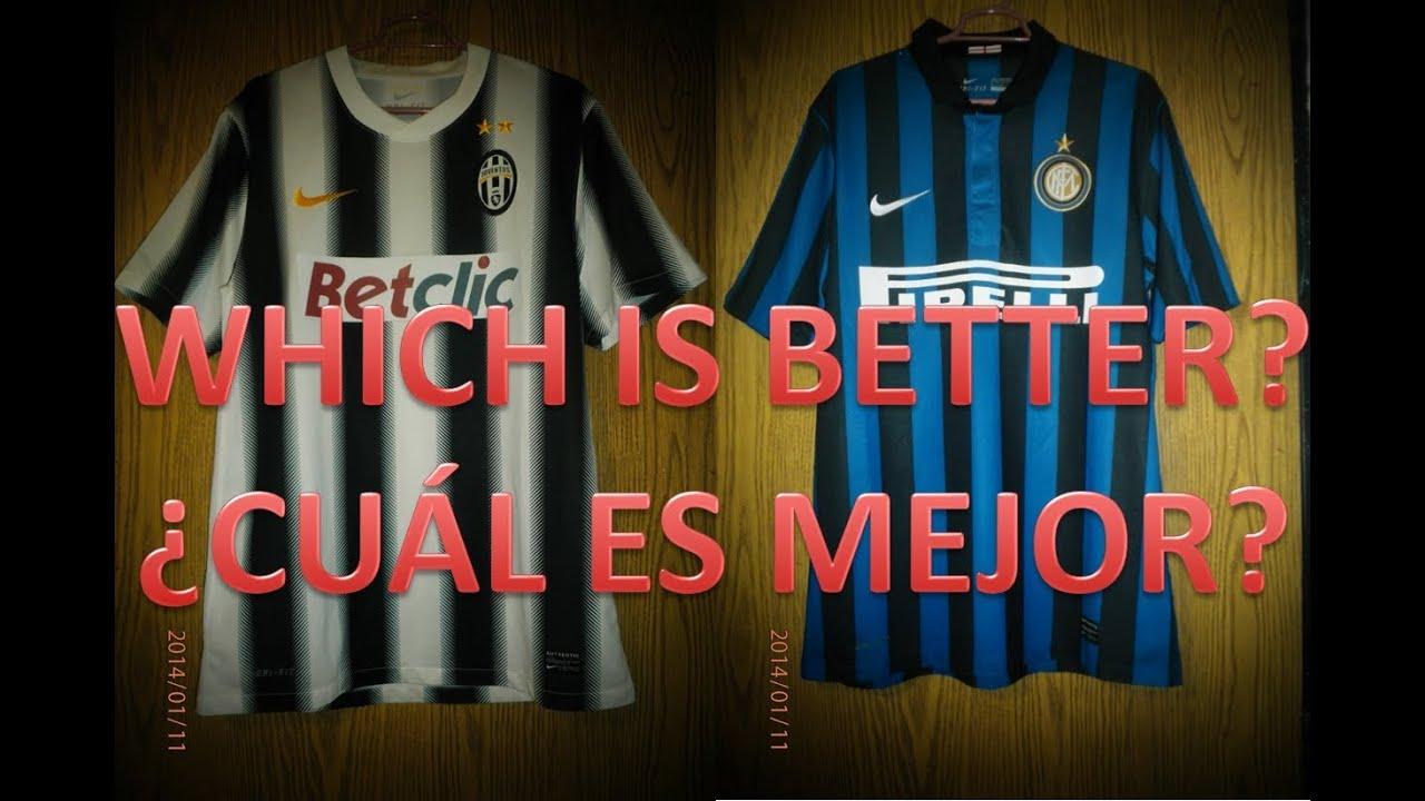 Nike Juventus Home Jersey 2011-2012 and Inter Milan Home Jersey 2011-2012 f57d2b91e
