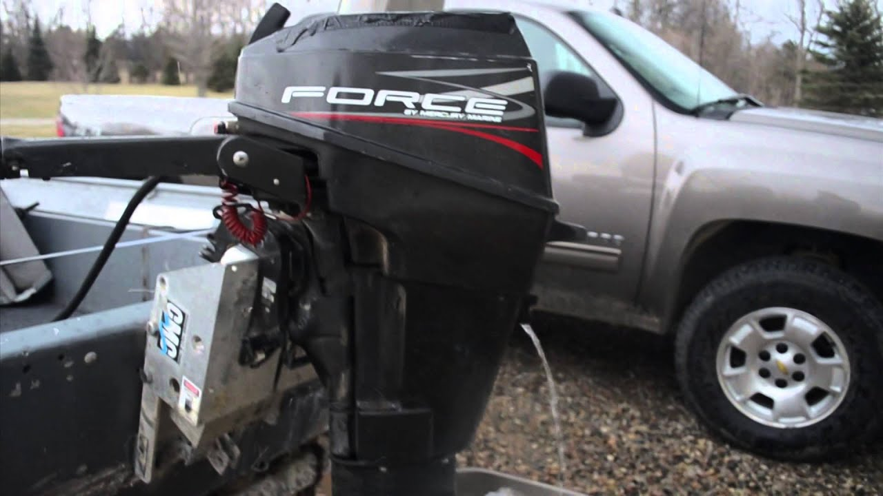 1997 Mercury Force 2-stoke 15 Hp Outboard Motor