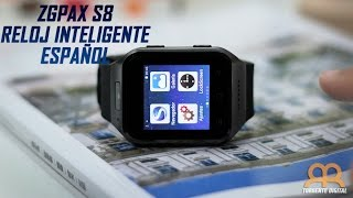 ZGPAX S8 Reloj Inteligente o Smartwatch Review Epañol