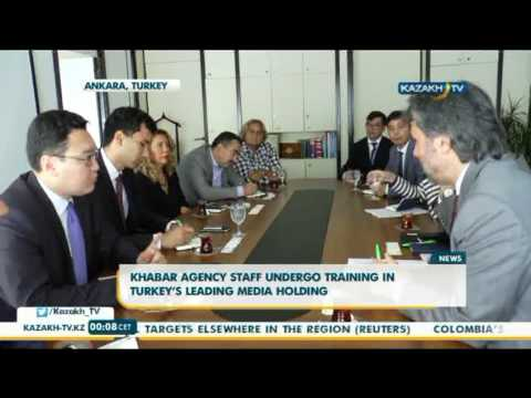 Khabar agency staff undergo training in Turkey's leading media holding - Kazakh TV