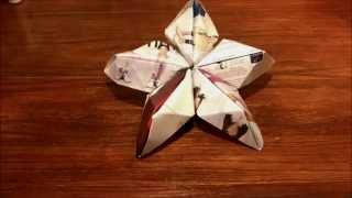 Flor/estrella de papel! Thumbnail