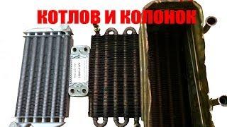 Теплообменники для газовых котлов и колонок(В данном видео представитель компании