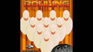 Capcom Bowling (Incredible Technologies 1988)  Attract Mode 60fps