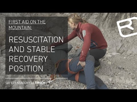First aid on the mountain: Resuscitation and stable recovery position - Tutorial