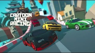 Cartoon Mini Racing Game Level 1-3 | Kids Car Racing Games