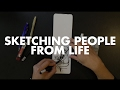 Sketching People from Life with Jingo de la Rosa