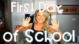First Day of School | Teacher Vlog