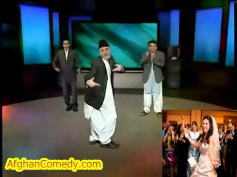 Karzai Obama Funny Afghan dancing at wedding AfghanComedy.com
