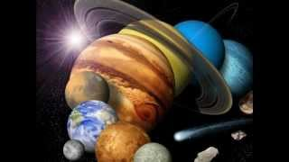 Solar system creation and claymation