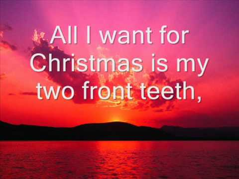DPEE- All I Want for Christmas is my Two Front Teeth.wmv - YouTube