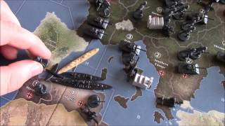 Axis and Allies Spring 1942 Second Edition: Germany Turn One Strategy