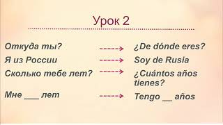 Испанский язык для начинающих урок 2 знакомство Español/Spanish