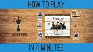 The rules girl takes a look at munchkin harry potter deluxe, game of magic, mystery, and adventure in wizarding world, for 3-6 players.in harr...