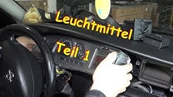 Opel Vectra B Blinker Ausbauen