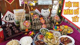 Tết đã đến ở Huế qua Hội thi mâm cổ bánh chưng