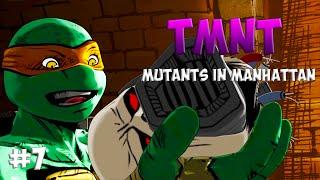 Черепашки-Ниндзя: Мутанты в Манхэттене. Прохождение #7 (TMNT: Mutants in Manhattan Gameplay 2016)